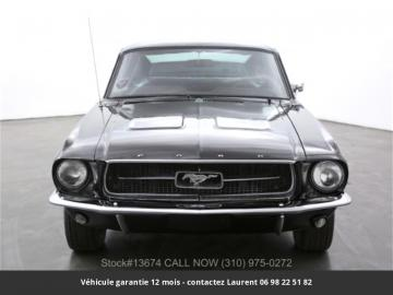 1967 Ford Mustang Fastback 289 V8 1967 Prix tout compris
