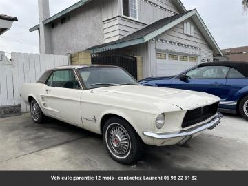 1967 Ford Mustang 289 V8 1967 Prix tout compris