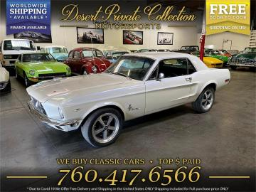 1968 Ford Mustang V8 1968 Prix tout compris