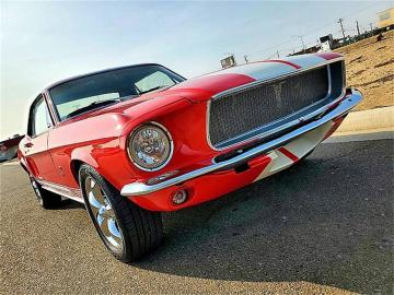 1968 Ford Mustang Shelby 350 Réplique V8 1968 Prix tout compris