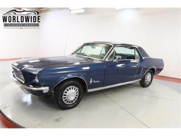 1968 Ford Mustang V8 289 1968 Prix tout compris