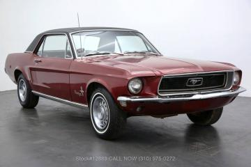1968 Ford Mustang V8 Code C 1968 Prix tout compris