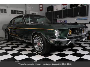 1968 Ford Mustang Fastback Bullitt 302 V8 Réstaurée 1968 Prix tout compris