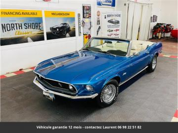 1969 Ford Mustang 289 Ci V8 1969 Prix tout compris
