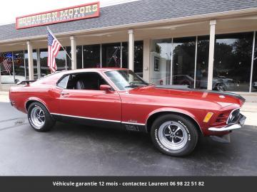 1970 Ford Mustang  Mach 1 351 ci/385 hp  V8 1970 Prix tout compris