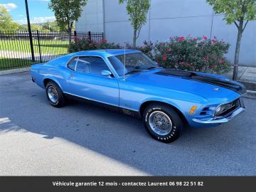 1970 Ford Mustang  Mach 1  351-2V V8 Windsor 1970 Prix tout compris