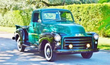1950 GMC 3100 Pickup Truck Frame Off Restoration