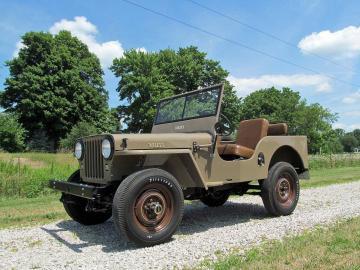 1946 Jeep CJ2 A 4X4 1946 Prix tout compris