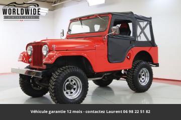 1955 Jeep CJ5 Prix tout compris