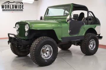 1973 Jeep CJ5 1973CPrix tout compris