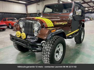1985 Jeep CJ7 4.2l 4*4 Réhausse Jante 17P 1985 Prix tout compris