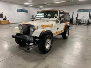 1986 Jeep CJ7 Renagade 1986 Prix tout compris