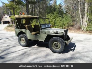 1947 JEEP Willys M38 Military police jeep 1947 Prix tout compris