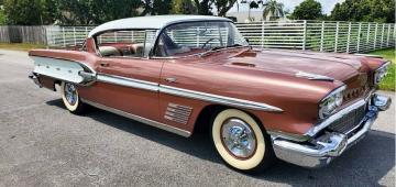 1958 Pontiac Bonneville 1958 Prix tout compris