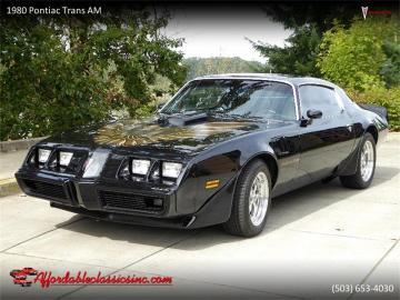 1980 Pontiac Firebird Trans Am 350 V8 1980 Prix tout compris