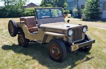 1946 Willys CJ2 1946 Prix tout compris