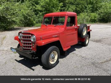 1951 Willys Pickup 4X4 1951 Prix tout compris